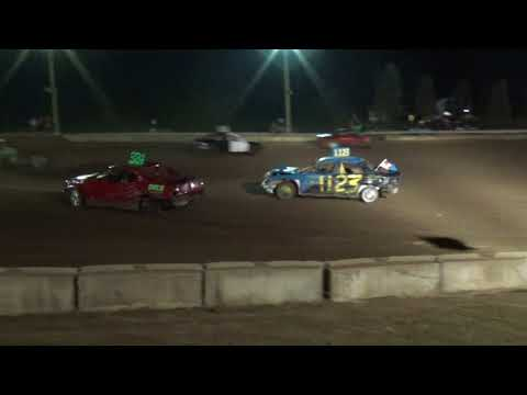 Michigan Bean Festival 2018 Bump and Run (compact cars) Heat 2 (Fairgrove,Michigan)