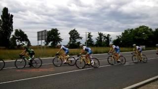 Tour de Hongrie 2017.06.30. 3. szakasz 405-ös úti leágazás Dánszentmiklós felé
