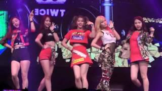 Twice Ooh Ahh Dance mirror