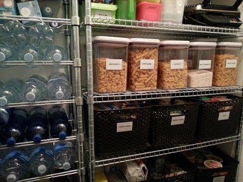 Come organizzare la dispensa in cantina tutto per casa - Organizzare dispensa della cucina ...
