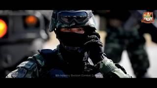 กองพลทหารราบที่9 กระทำพิธีกระทำสัตย์ปฎิญาณตนต่อหน้าธงชัยเฉลิมพล ประจำปี 2561