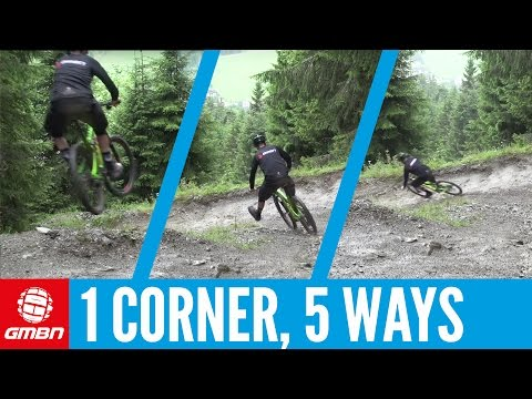 5 Lines, 1 Corner | Mountain Bike Skills
