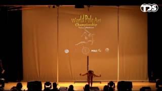 World Pole Art Championship 2017   Amandine Marchon (Swi) Junior, 2nd Place