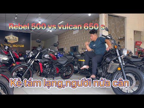 Dương motor - vulcan 650s vs rebel 500,đường trường hay đường phố?