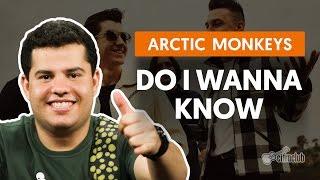 Videoaula Do I Wanna Know (guitarra)