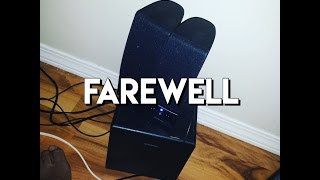 farewell to the insignia speakers