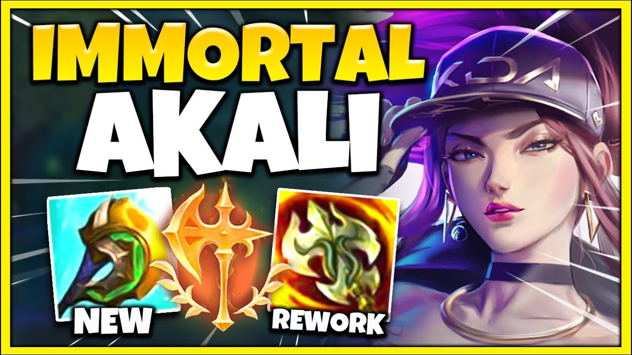 Professor Akali - THIS is the ABSOLUTE BEST Akali Build for Season 11! UNKILLABLE with HUGE DAMAGE - League of Legends