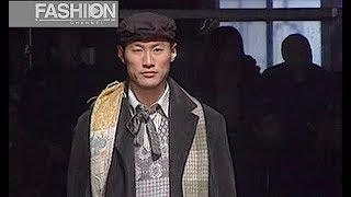 ANTONIO MARRAS Fall 2003 2004 Menswear Milan - Fashion Channel