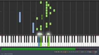 Vois sur ton chemin - Les Choristes (piano part) [100% speed] - Synthesia