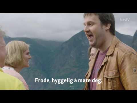 Familien Skjerdal/Bekkestad får besøk av det tyske paret Ludwig og Agnes.