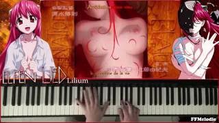 Elfen Lied Lilium Piano Cover