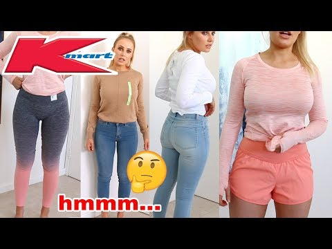 KMART CLOTHING HAUL REVIEW & TRY ON