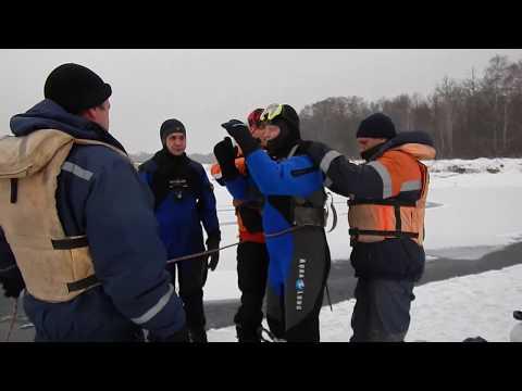 Спасателями проведены тренировочные водолазные спуски