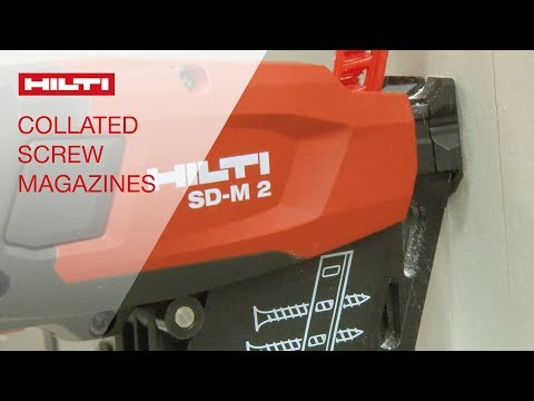 REVIEW of Hilti collated drywall screw systems SD-M 1 and SD-M 2