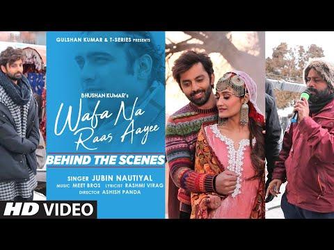 Making of Wafa Na Raas Aayee Song  Jubin N   Ft.Himansh K,Arushi N, Meet Bros  Rashmi V   Ashish P