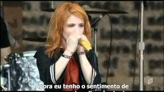 Paramore - Where the Lines Overlap [ Summer Sonic 2009 ] Legendado HD