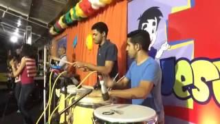 Percussão Força e vitória - Hoje é dia de Festa.