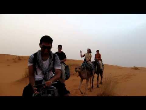 Camel Ride into Erg Chebbi Sand Dunes