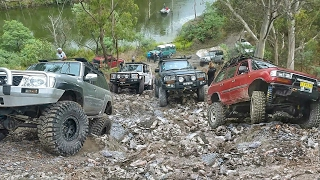 4x4 Challenge @ Unimog Hill - 40inch Tires vs The Rest