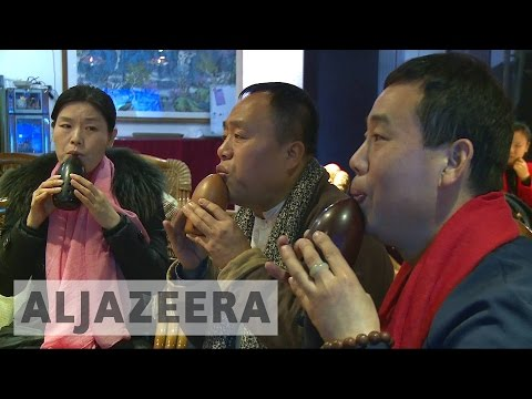 An ancient instrument makes a comeback in China