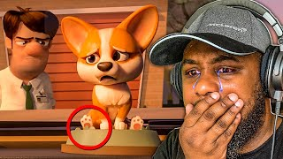 Reacting to the SADDEST Animations - TRY NOT TO CRY CHALLENGE