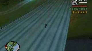 GTA: San Andreas - High Speed Cop Chase