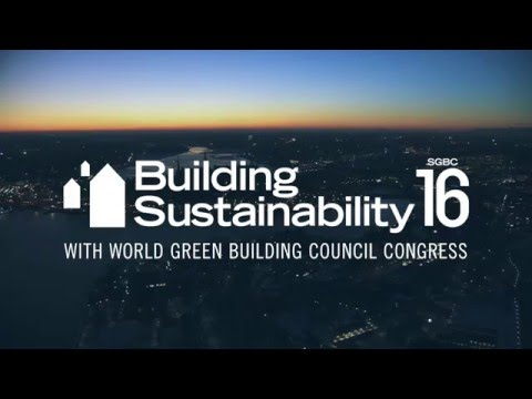 Welcome to Building Sustainability SGBC16