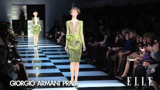 ELLE TV─2012 SS Armani Prive Haute Couture