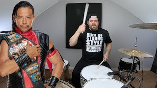 NEW WWE Shinsuke Nakamura Theme Song Shadows of a Setting Sun Drum Cover @ShinsukeN