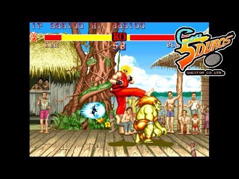 "STREET FIGHTER 2 THUNDER EDITION - ""CON 5 DUROS"" Episodio 603 (1cc) (CTR)"