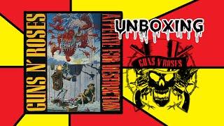 CD Guns N' Roses: Appetite for Destruction - UNBOXING
