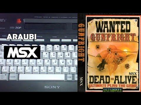 Gunfright (Ultimate, 1985) MSX [219] El Kiosko