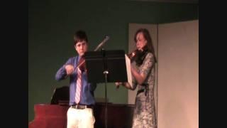 Overture to Royal Fireworks Music - Violin & Viola Duet