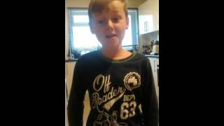 Only Fools and Horses Theme Tune - Joey 8years old - Fabulous!