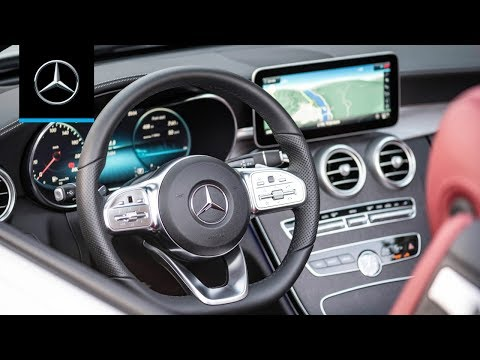 How to Control the Multimedia System in the Mercedes-Benz C-Class (2019)