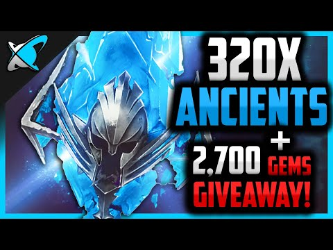 320X ANCIENT SHARDS + 2,700 Gems Giveaway !! | 2x Ancient Event ! | RAID: Shadow Legends
