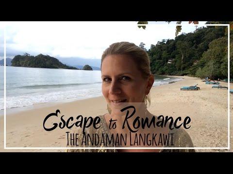 The Andaman Langkawi | Beach Bar & Tepian Laut Restaurant Tour at Sunset