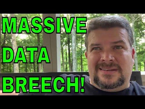 Massive Data Breech - Change important passwords!