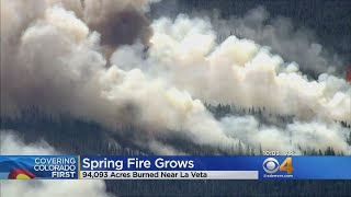 Spring Fire Listed As One Of Largest Wildfires In Colorado History