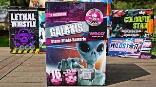 TOP Discounter Batterie Galaxis LIDL NEUHEIT 2017 | PyroExtremGermany