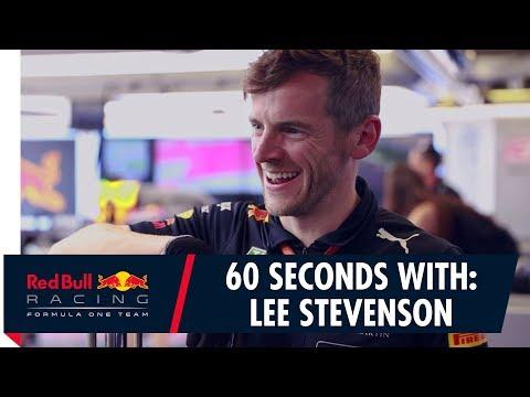 60 Seconds With: No.1 Mechanic Lee Stevenson
