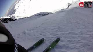 POV Reine Barkered - 1st Ski Swatch FWT Xtreme Verbier 2012