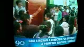 ABUSO EN COLEGIO DE MANCHAY I.E.P. Virgen De La Puerta