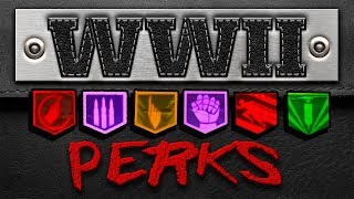 "All Perks & Perk Machine Locations, Wall Guns & Locations ( WW2 ) ""Final Reich"" Zombies"