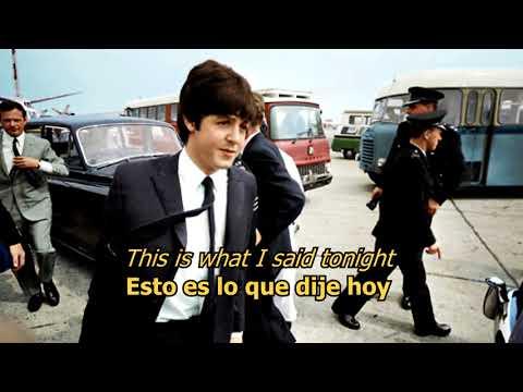 Yes It Is En Espanol de The Beatles Letra y Video