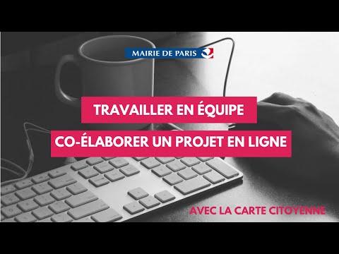 Paris Formation - Travailler en équipe et co-élaborer des projets en ligne