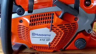 Chainsaw Husqvarna 572 XP VIDEO PROSPECT!!!