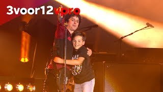 Green Day brings 11 year old-fan out on stage