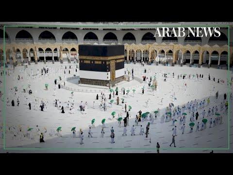 Pilgrims arrive in Makkah for second Hajj pared down by coronavirus pandemic