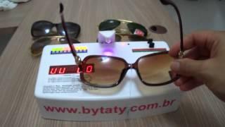 Teste Uv Óculos de Sol